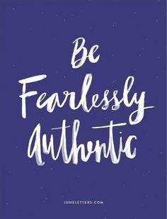 authentic